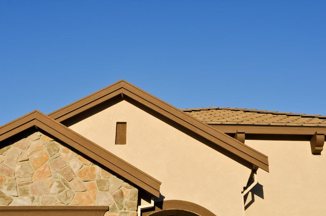This is a picture of a exterior acrylic stucco.